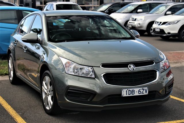 Used Holden Cruze JH Series II MY16 Equipe Cheltenham, 2015 Holden Cruze JH Series II MY16 Equipe Grey 6 Speed Sports Automatic Hatchback