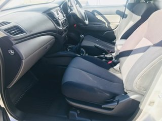 2015 Mitsubishi Triton MQ MY16 GLX 4x2 Silver 6 Speed Manual Cab Chassis