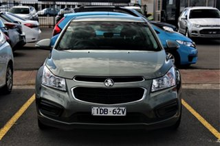 2015 Holden Cruze JH Series II MY16 Equipe Grey 6 Speed Sports Automatic Hatchback.