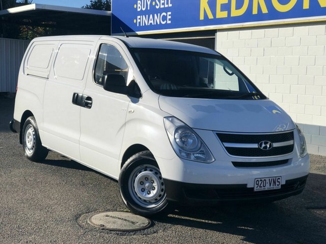 Used Hyundai iLOAD TQ2-V MY15 Chermside, 2014 Hyundai iLOAD TQ2-V MY15 White 5 Speed Automatic Van