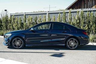 2017 Mercedes-Benz CLA-Class C117 807MY CLA200 DCT Blue 7 Speed Sports Automatic Dual Clutch Coupe.