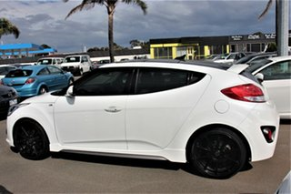 2015 Hyundai Veloster FS4 Series II SR Coupe D-CT Turbo White 7 Speed Sports Automatic Dual Clutch