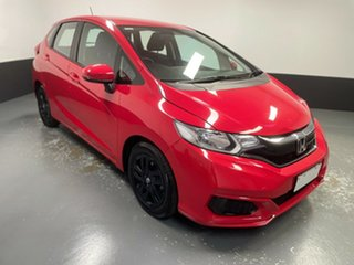 2017 Honda Jazz GF MY18 VTi Red 1 Speed Constant Variable Hatchback.