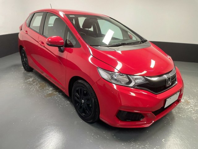 Used Honda Jazz GF MY18 VTi Rutherford, 2017 Honda Jazz GF MY18 VTi Red 1 Speed Constant Variable Hatchback