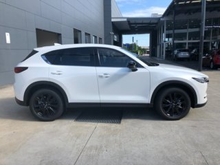 2021 Mazda CX-5 KF4WLA GT SKYACTIV-Drive i-ACTIV AWD SP Snowflake White 6 Speed Sports Automatic.