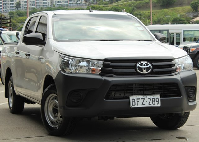 Demo Toyota Hilux GUN122R , Toyota Hilux GUN122R 2WD D/Cab White 5 Speed Manual Utility