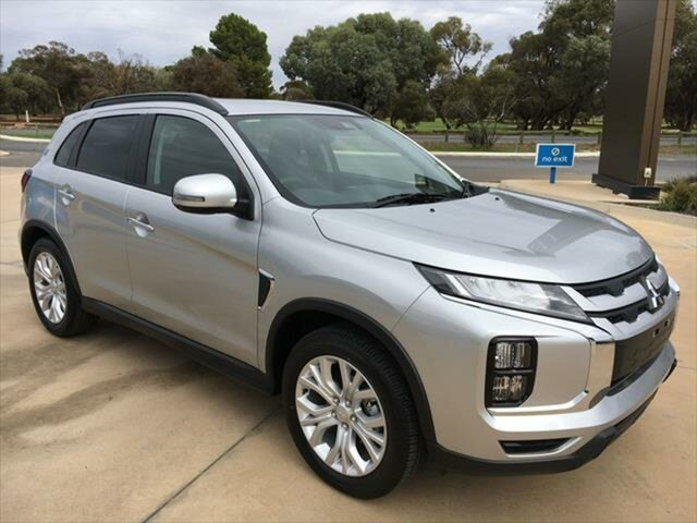 Demo Mitsubishi ASX XD MY20 LS 2WD Berri, 2019 Mitsubishi ASX XD MY20 LS 2WD Sterling Silver 1 Speed Constant Variable Wagon