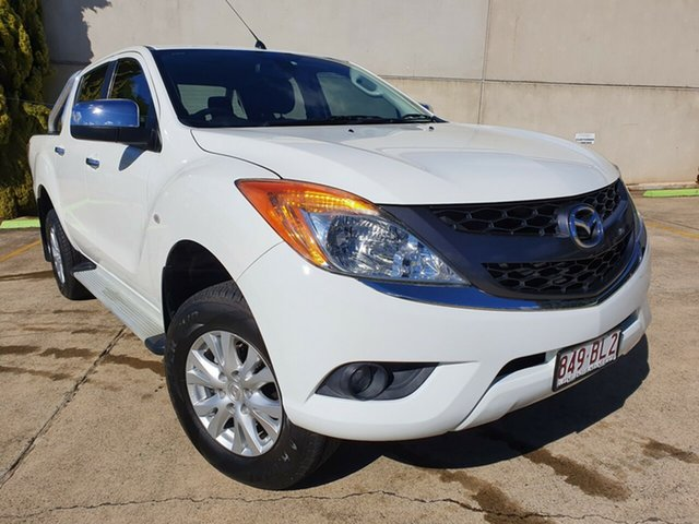 Used Mazda BT-50 UP0YF1 GT Toowoomba, 2012 Mazda BT-50 UP0YF1 GT White 6 Speed Sports Automatic Utility