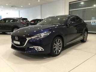 2018 Mazda 3 BN5238 SP25 SKYACTIV-Drive Astina Deep Crystal Blue/bn 6 Speed Sports Automatic Sedan