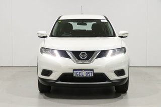 2017 Nissan X-Trail T32 TS (FWD) Pearl White Continuous Variable Wagon.