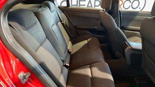 2011 Holden Commodore VE II SV6 Red 6 Speed Manual Sedan