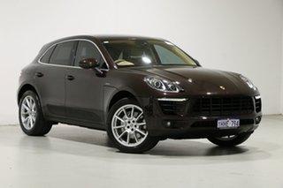 2016 Porsche Macan MY16 S Diesel Mahogany Metallic 7 Speed Auto Dual Clutch Wagon.