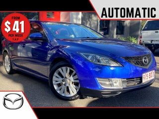 2008 Mazda 6 GH1051 Classic Metallic Blue 5 Speed Sports Automatic Sedan.