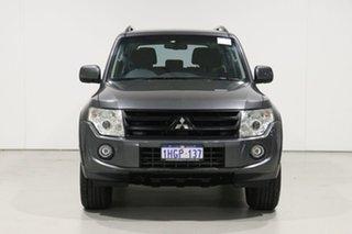 2013 Mitsubishi Pajero NW MY13 GLX-R LWB (4x4) Grey 5 Speed Auto Sports Mode Wagon.