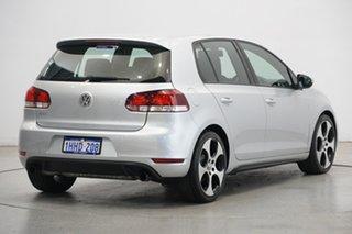 2011 Volkswagen Golf VI MY11 GTI DSG Silver 6 Speed Sports Automatic Dual Clutch Hatchback