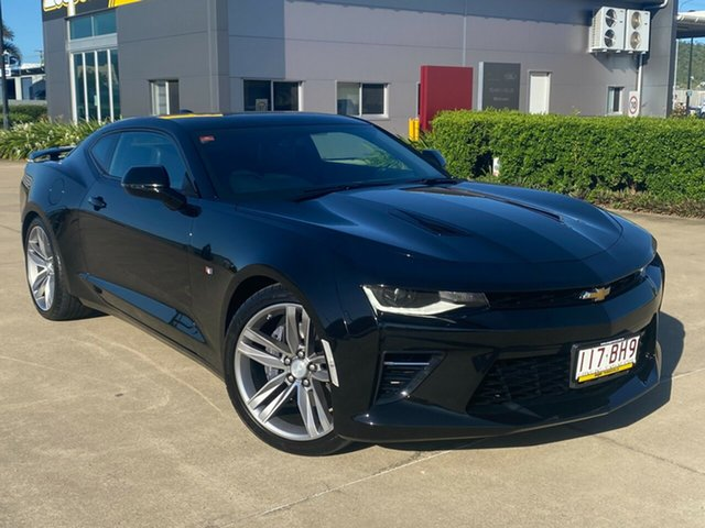 Used Chevrolet Camaro MY18 2SS Townsville, 2018 Chevrolet Camaro MY18 2SS Black 8 Speed Sports Automatic Coupe