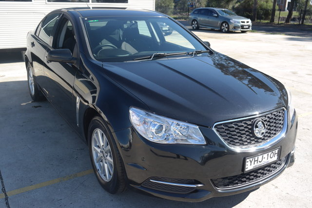 Used Holden Commodore VF MY14 Evoke Maryville, 2013 Holden Commodore VF MY14 Evoke Black 6 Speed Sports Automatic Sedan