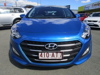 2016 Hyundai i30 GD4 Series II MY17 Active DCT Blue 7 Speed Sports Automatic Dual Clutch Hatchback