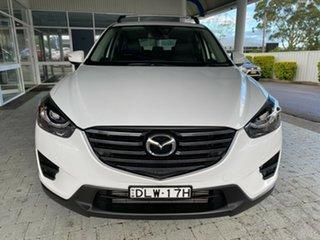 2017 Mazda CX-5 Grand Touring Crystal White Pearl Sports Automatic Wagon.