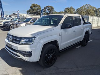 2019 Volkswagen Amarok 2H MY19 TDI580 4MOTION Perm Highline Black Candy White 8 Speed Automatic