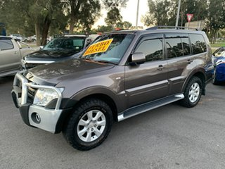 2012 Mitsubishi Pajero NW MY12 Activ Bronze 5 Speed Sports Automatic Wagon