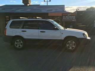 2004 Subaru Forester 79V MY04 X AWD White 4 Speed Automatic Wagon.