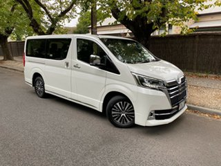 2019 Toyota Granvia GDH303R Crystal Pearl 6 Speed Sports Automatic Wagon.