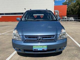 2008 Kia Carnival VQ EX Blue 4 Speed Automatic Wagon
