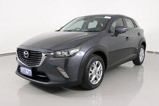 2017 Mazda CX-3 DK Maxx Safety (FWD) Grey 6 Speed Manual Wagon.