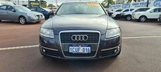 2006 Audi A6 4F Avant Multitronic Black 1 Speed Constant Variable Wagon.