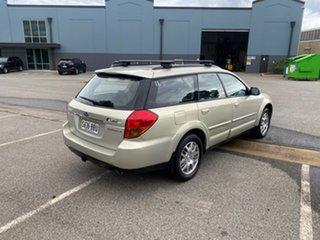 2006 Subaru Outback B4A MY06 AWD Sunlight Gold Opal 4 Speed Sports Automatic Wagon