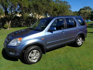 2003 Honda CR-V RD MY2003 4WD Blue 4 Speed Automatic Wagon.