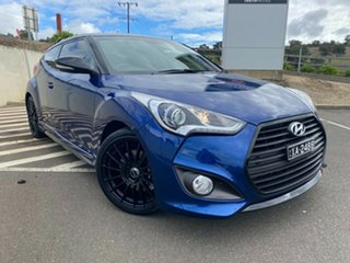 2016 Hyundai Veloster FS5 Series II Street Coupe D-CT Dazzling Blue/blue 7 Speed.