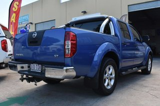 2013 Nissan Navara D40 MY12 ST (4x4) Blue 5 Speed Automatic Dual Cab Pick-up