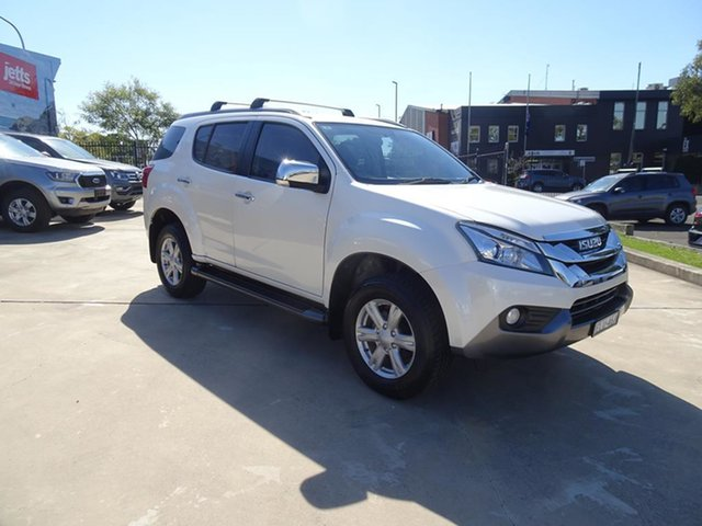Used Isuzu MU-X MY15 LS-T Rev-Tronic 4x2 Nowra, 2016 Isuzu MU-X MY15 LS-T Rev-Tronic 4x2 White 5 Speed Automatic Wagon