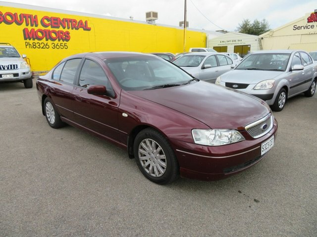 Used Ford Fairmont BA MkII Morphett Vale, 2004 Ford Fairmont BA MkII Red 4 Speed Auto Seq Sportshift Sedan