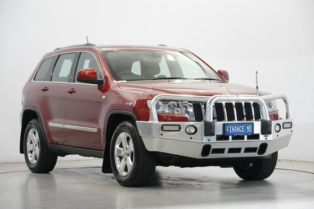 Used Jeep Grand Cherokee WK MY2013 Laredo Victoria Park, 2013 Jeep Grand Cherokee WK MY2013 Laredo Red 5 Speed Sports Automatic Wagon
