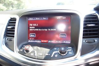 2013 Holden Commodore VF MY14 SS V Redline Prussian Steel 6 Speed Manual Sedan