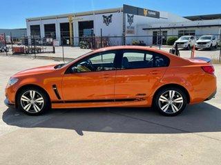 2013 Holden Commodore VF MY14 SS Orange/301213 6 Speed Sports Automatic Sedan