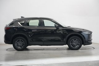 2018 Mazda CX-5 KF4W2A Touring SKYACTIV-Drive i-ACTIV AWD Black 6 Speed Sports Automatic Wagon