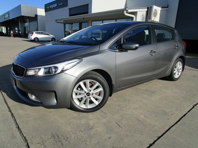 Used Kia Cerato YD MY16 SI Caboolture, 2016 Kia Cerato YD MY16 SI Grey 6 Speed Sports Automatic Hatchback