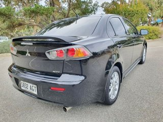 2010 Mitsubishi Lancer CJ MY10 ES Black 5 Speed Manual Sedan