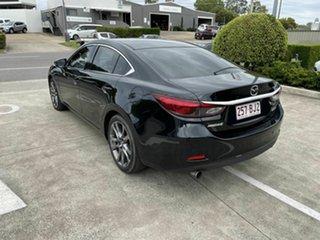 2016 Mazda 6 GJ1032 Atenza SKYACTIV-Drive Black 6 Speed Sports Automatic Sedan