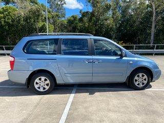 2008 Kia Carnival VQ EX Blue 4 Speed Automatic Wagon.