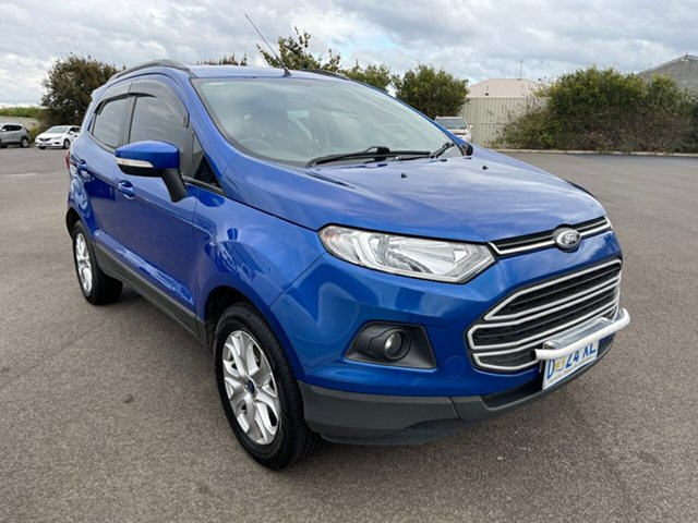 Used Ford Ecosport BK Trend Devonport, 2014 Ford Ecosport BK Trend Blue 5 Speed Manual Wagon
