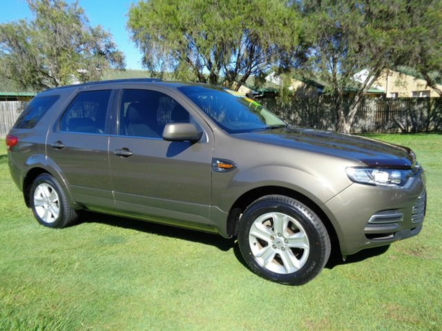 Used Ford Territory SZ TX Seq Sport Shift Kippa-Ring, 2011 Ford Territory SZ TX Seq Sport Shift Brown 6 Speed Sports Automatic Wagon