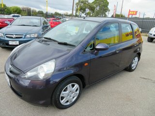 2006 Honda Jazz Purple 5 Speed Manual Hatchback.