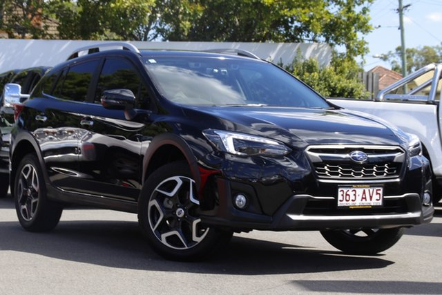 Used Subaru XV G5X MY18 2.0i-S Lineartronic AWD Mount Gravatt, 2018 Subaru XV G5X MY18 2.0i-S Lineartronic AWD Crystal Black 7 Speed Constant Variable Wagon