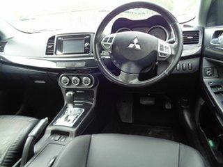 2012 Mitsubishi Lancer CJ MY13 LX Silver 6 Speed Constant Variable Sedan