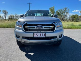 2020 Ford Ranger PX MkIII 2021.25MY XLS Aluminium Silver 6 Speed Sports Automatic Double Cab Pick Up.